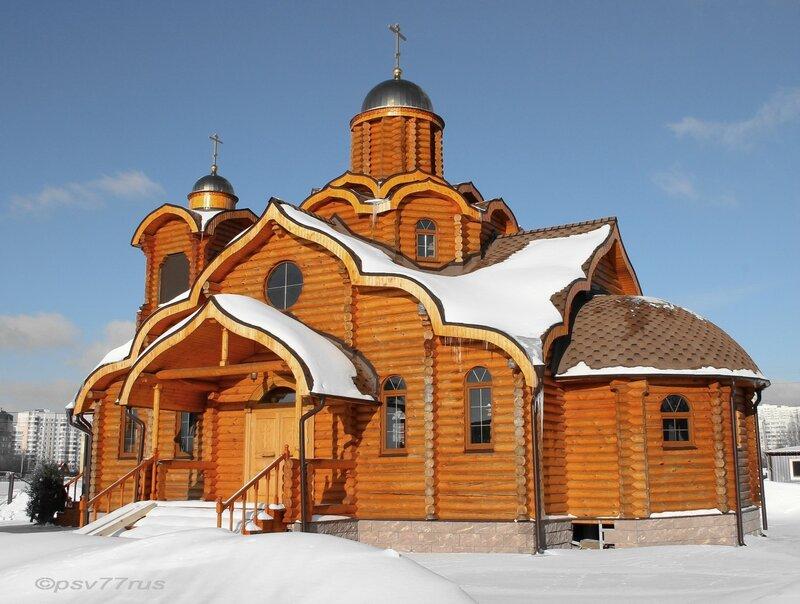 Храм Равноапостольной Марии Магдалины в Южном Бутово. Москва.