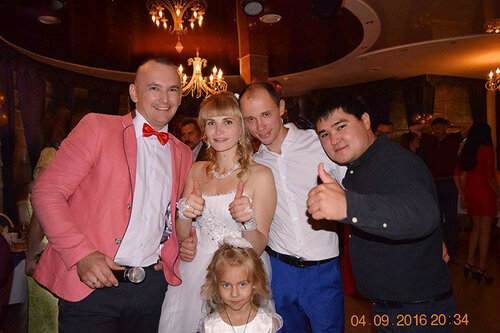 Свадьба Дениса и Галины