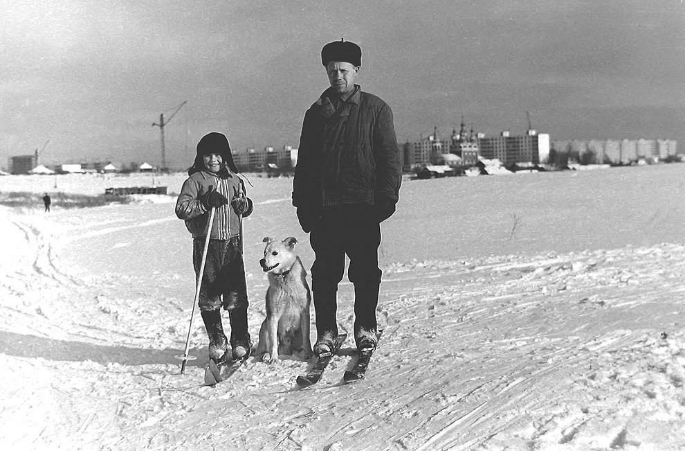 5. Местные, деревня Тропарёво. 1972 г.