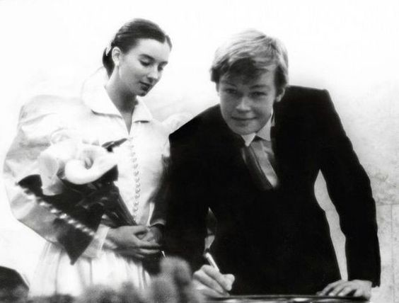 7. Наталья Рудова (певица) с мужем