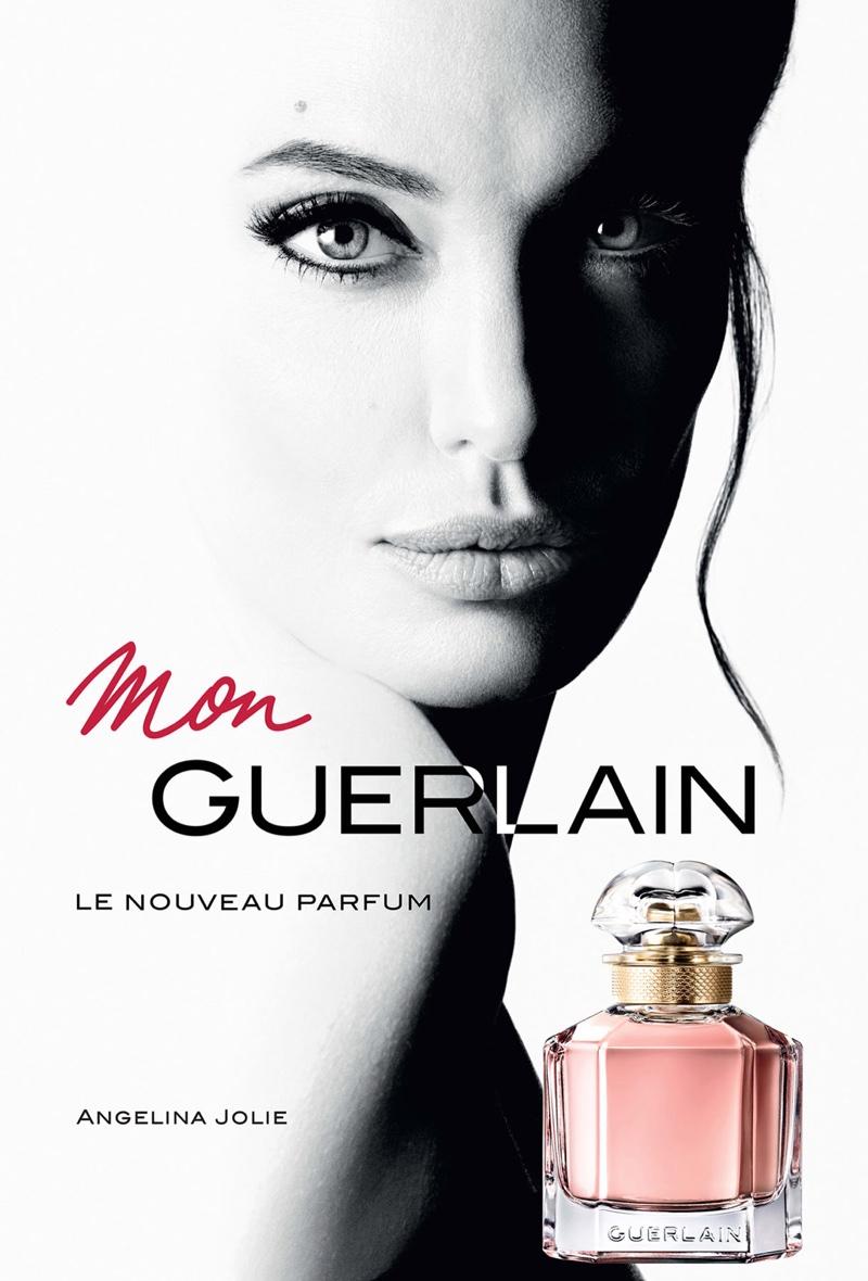 Анжелина Джоли стала лицом Guerlain (3 фото)