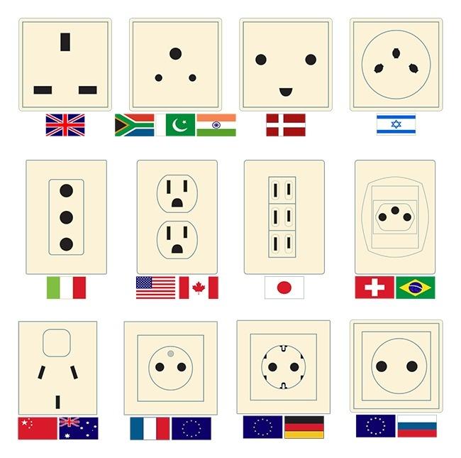 © Alexandrus1 / depositphotos.com  Помере развития электросетей вмире появлялись самые разны