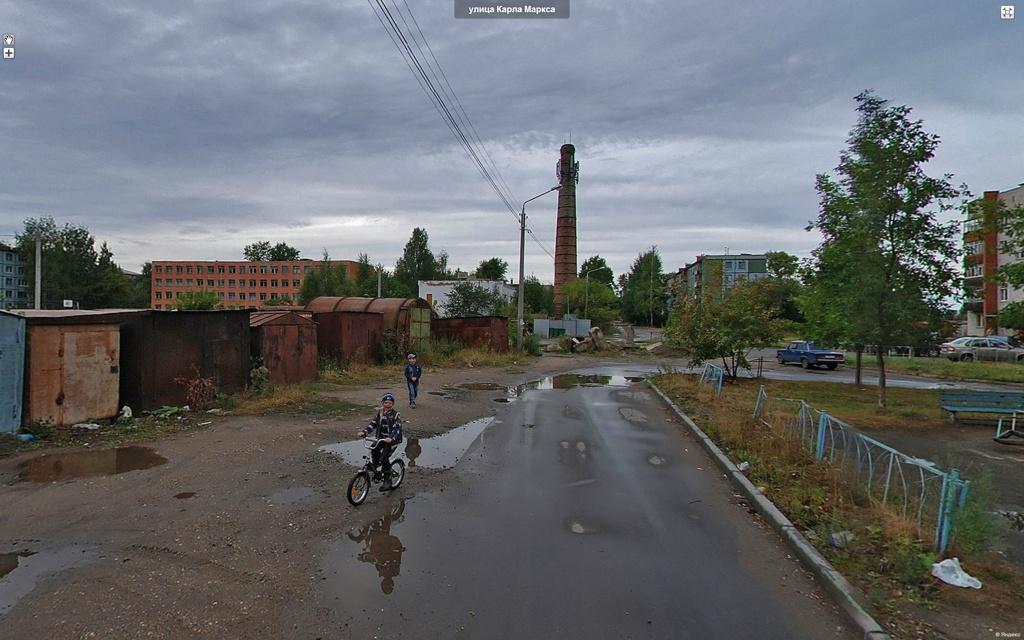 Вологда, улица Карла Маркса.