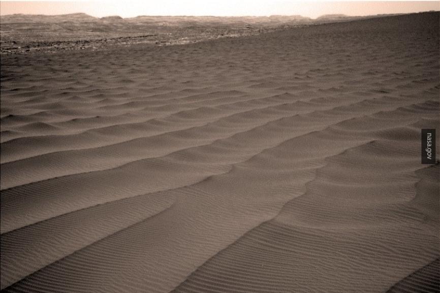 Пыльные дьяволы: ученые зафиксировали особые движения наМарсе