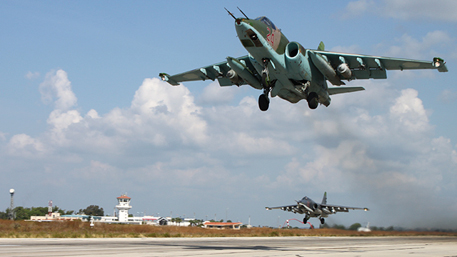 СамолетыРФ икоалиции спокойно соседствуют внебе Сирии