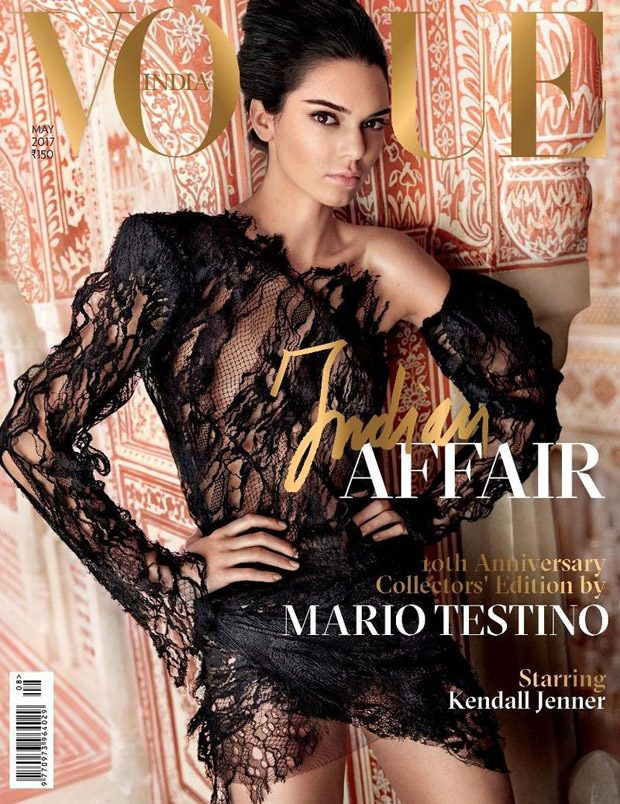 Kendall Jenner is the Cover Girl of Vogue India May 2017 Issue