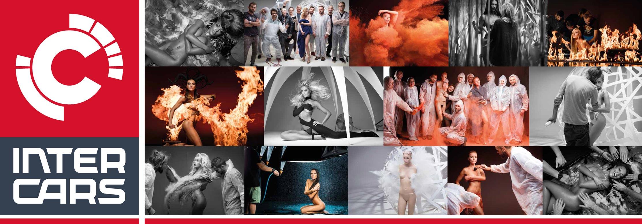 Сексуальные девушки в эротическом календаре Inter Cars SA 2016 nude calendar