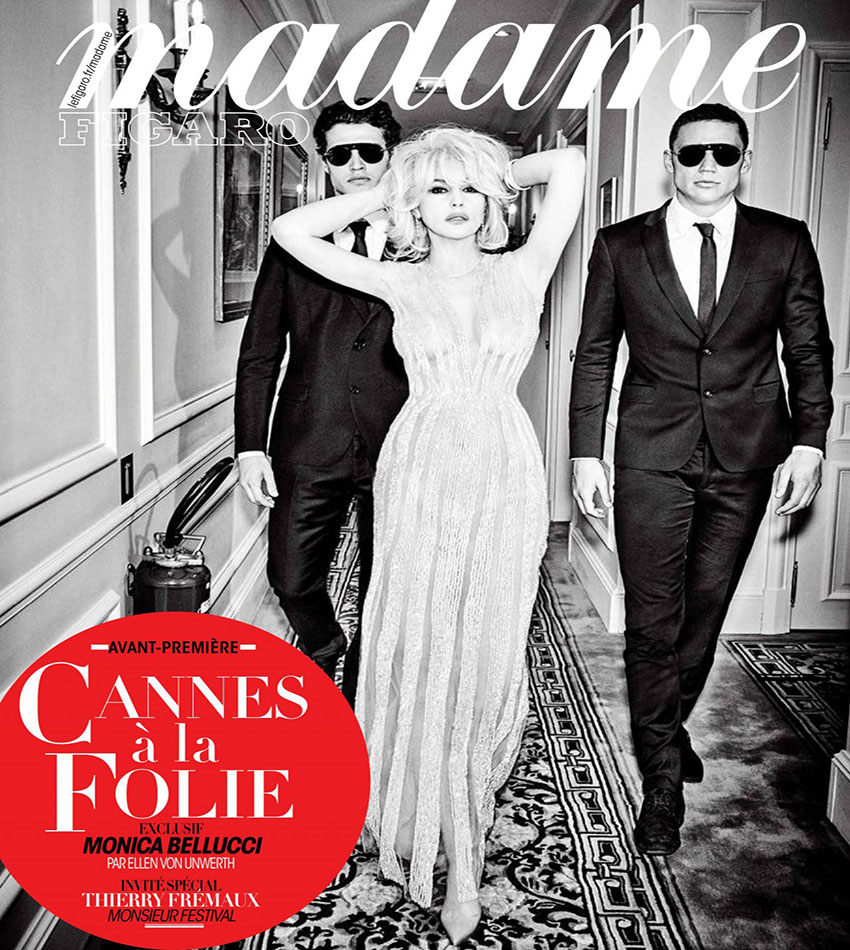 Monica Bellucci – Madame Figaro (May 12, 2017)