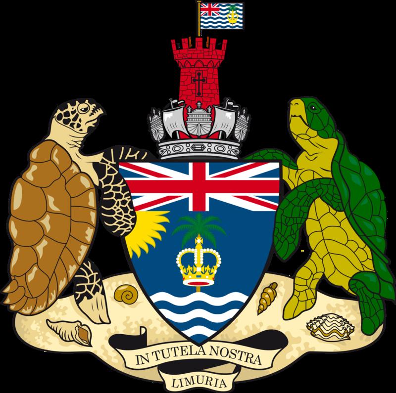 герб Британской Территории в Индийском Океане