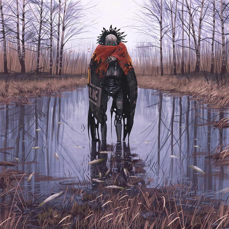 Dystopian Future - The latest creations by illustrator Simon Stalenhag