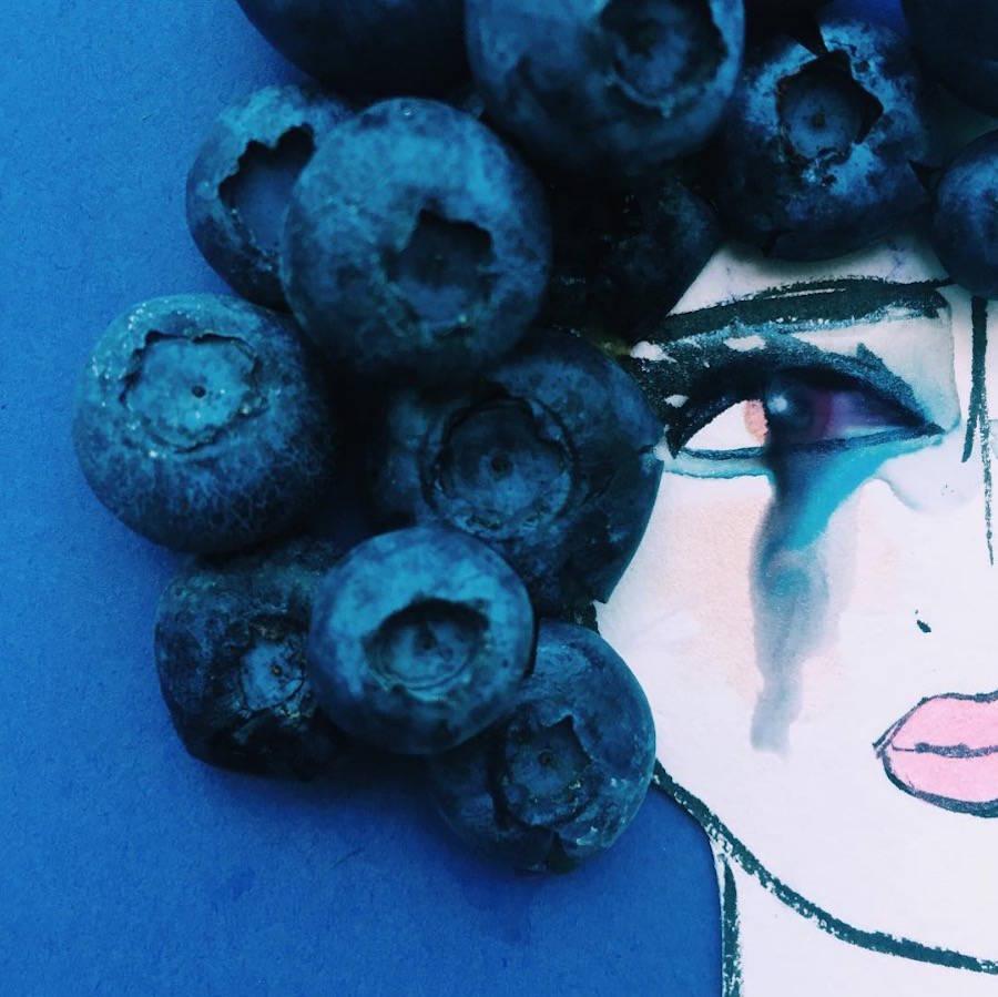 The Mixed Bite Size Portraits of Vela Burke