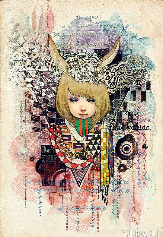 Inspiring Illustrations by Yuko Rabbit