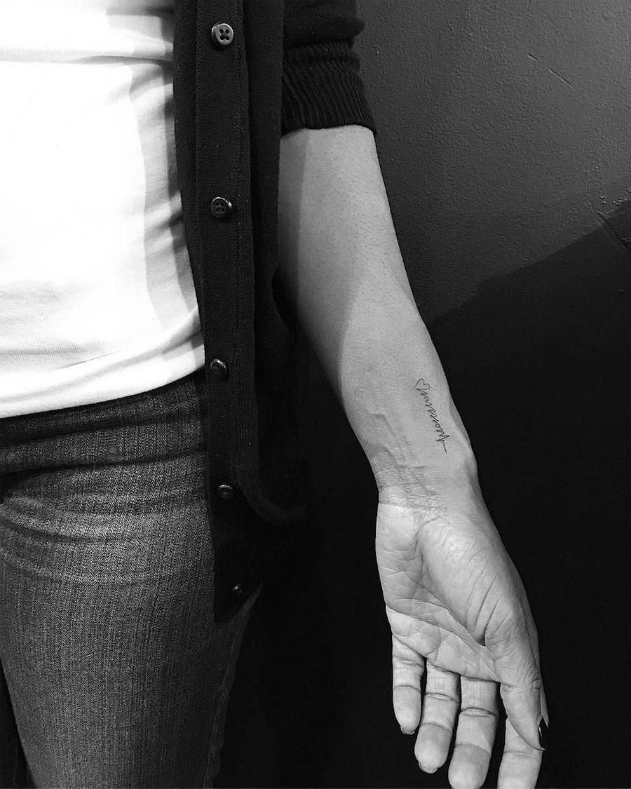 Powerful Black Minimalist Tattoos