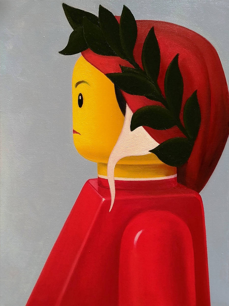 Iconic Paintings Reimagined with LEGO Figures