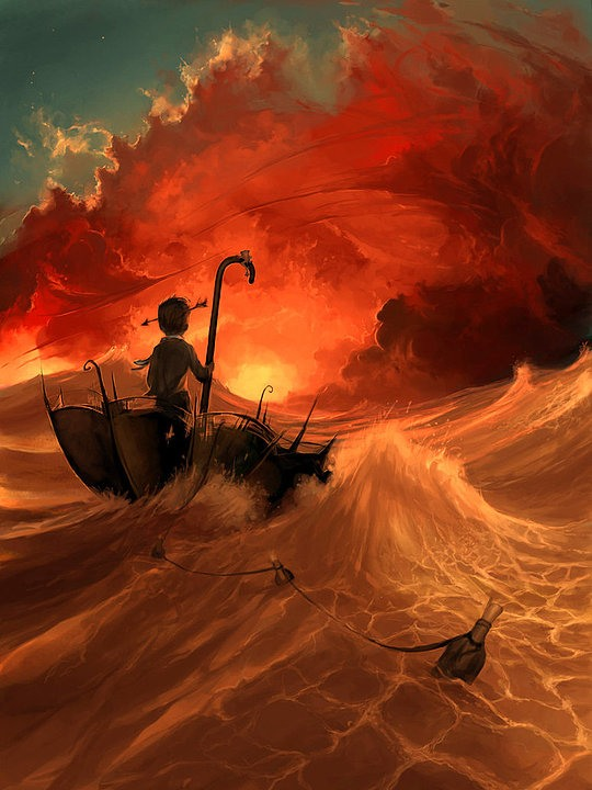 Stunning Illustrations by Cyril Rolando