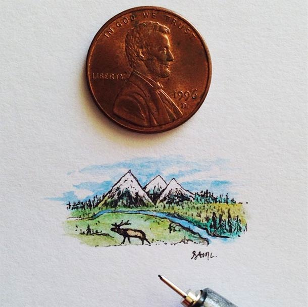 18 illustrations miniatures de Sam Larson (18 pics)