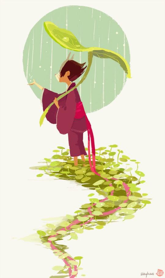 Beautiful Illustrations by Abigail L. Dela Cruz