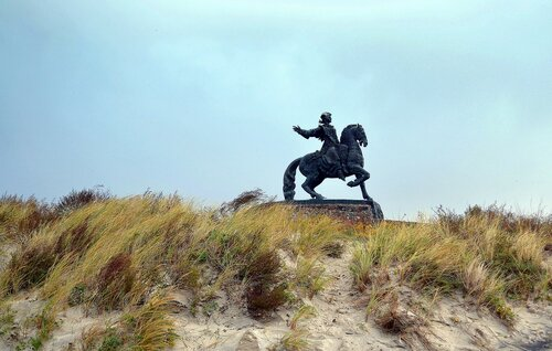 Елизавета над берегом Балтики