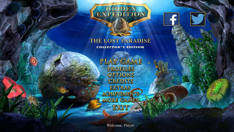 Hidden Expedition: The Lost Paradise CE