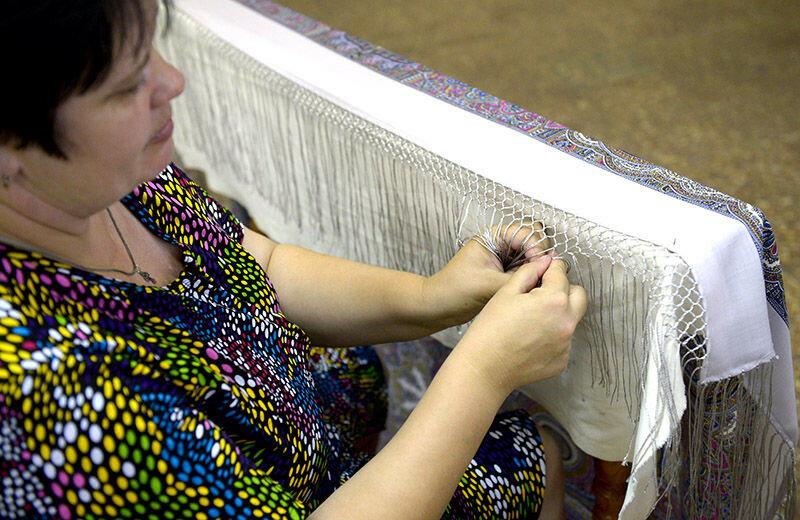 Как самой сделать платок 913