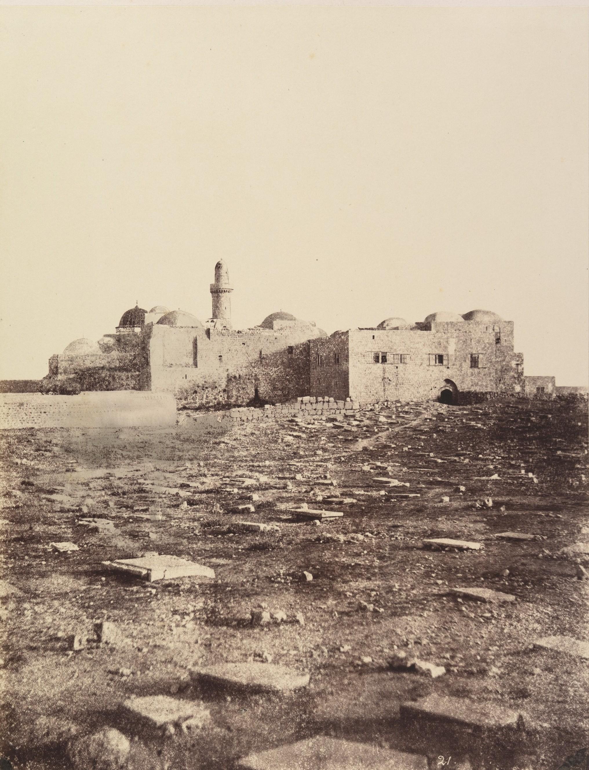 Окрестности Иерусалим. Гора Сион, Сионская горница и дом Каиафы