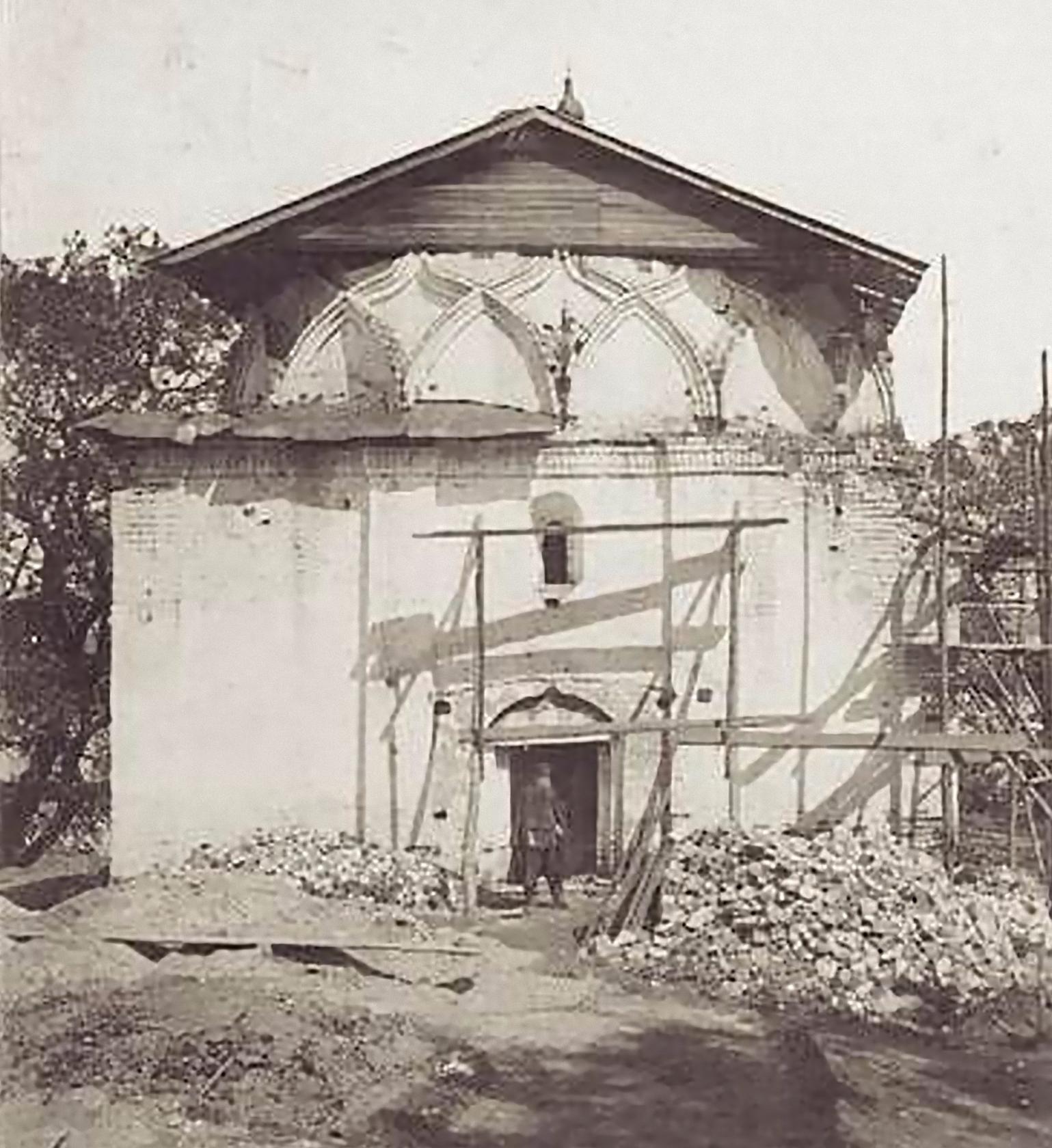 Храм Козьмы и Демьяна. Реконструкция. 1889