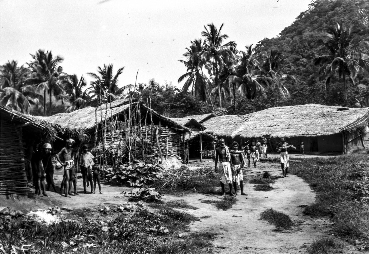 805. Гайба. Вид зданий и жителей деревни