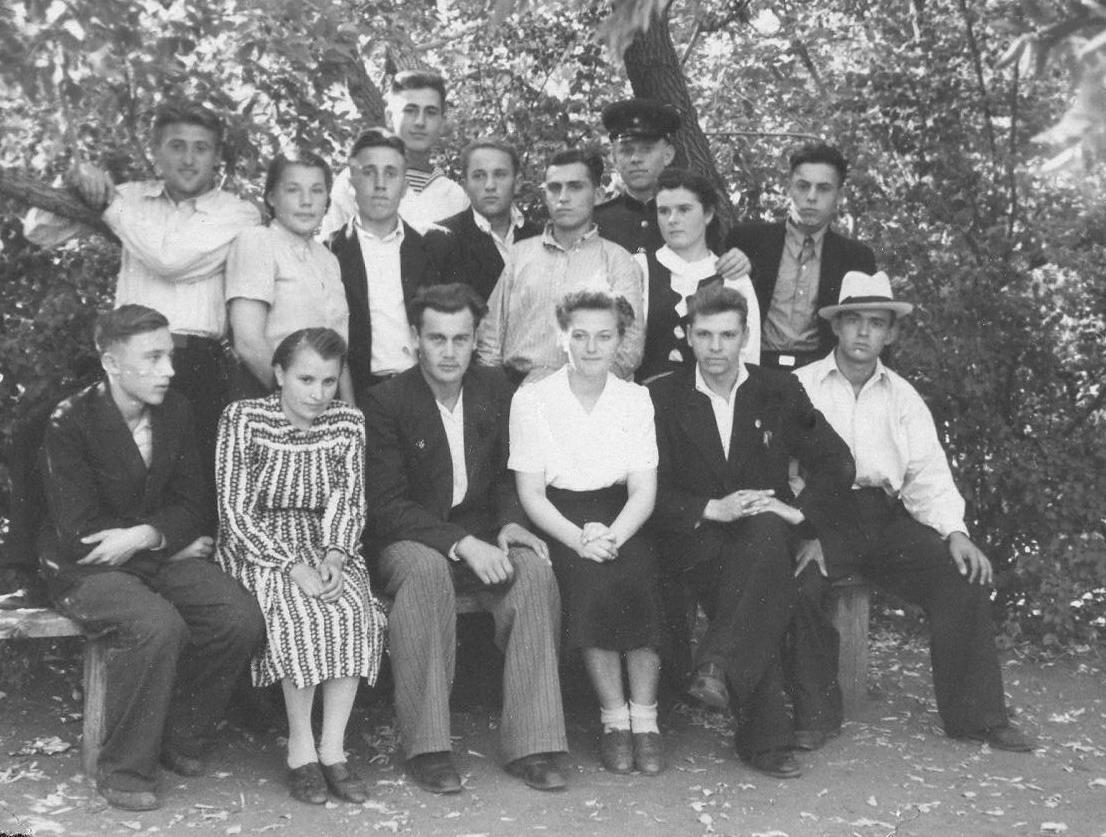 1950-е. Студенты Омского СХИ