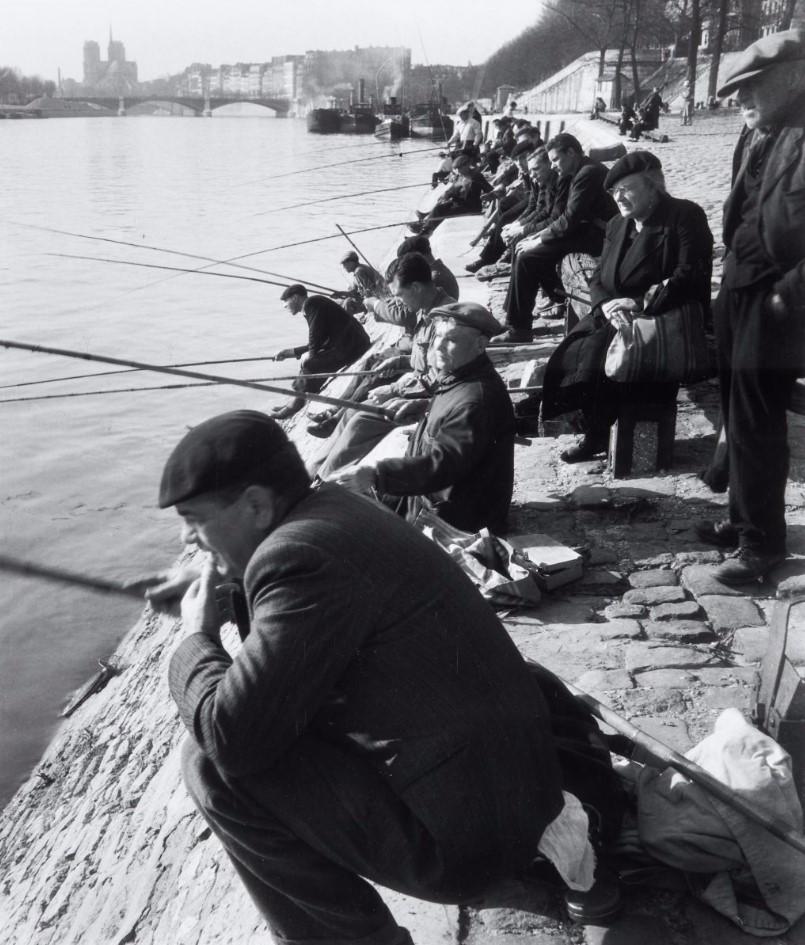 1946. Ке-де-ля-Рапе. Париж