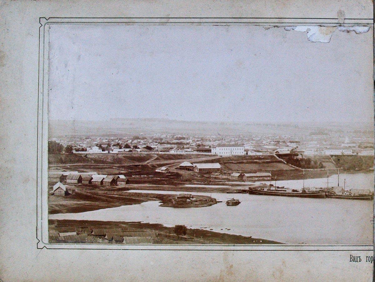 13. Вид города Елабуги. Левая часть панорамы
