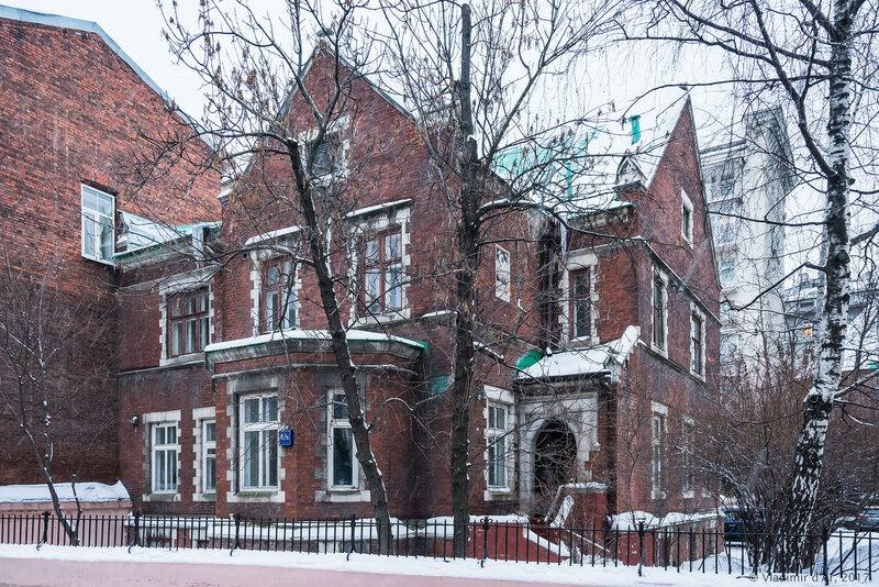 Англиканская церковь Святого Андрея в Москве - домик пастора
