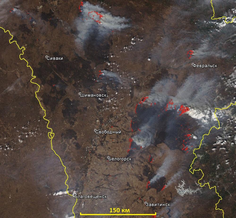 Уральцам напомнили о больших штрафах заразжигание лесных пожаров