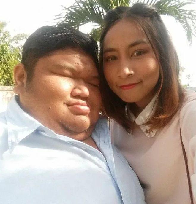 Любовь 120-килограммового тайца и его девушки вызвала недоумение в Сети