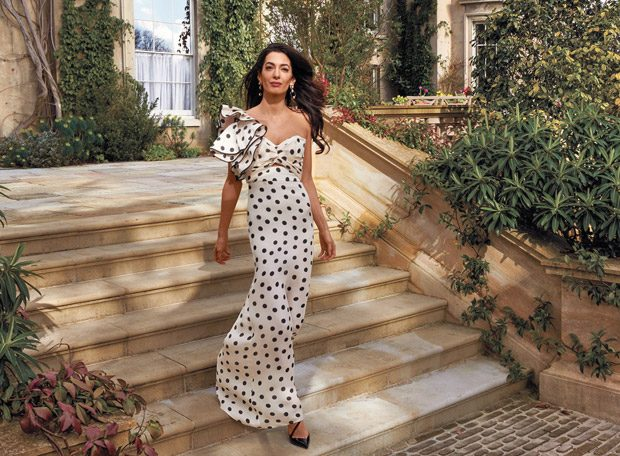 Amal Clooney Stars in American Vogue May 2018 Cover Story