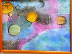 Космос студии батик и акварель
