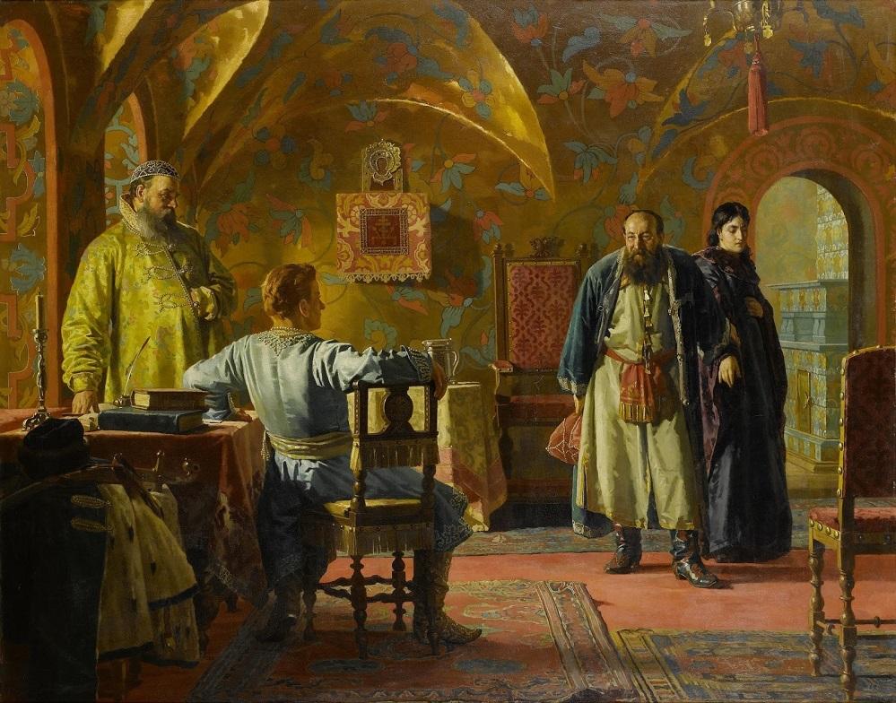 В боярских палатах Частное собрание