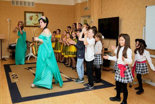 Благотворительный концерт гимназистов в приюте