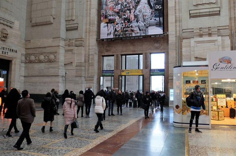 Переезд из Вероны в Милан