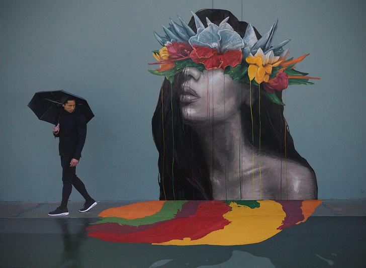 уличные рисунки уличное искусство художники женщины имена экологичность В мире помощь