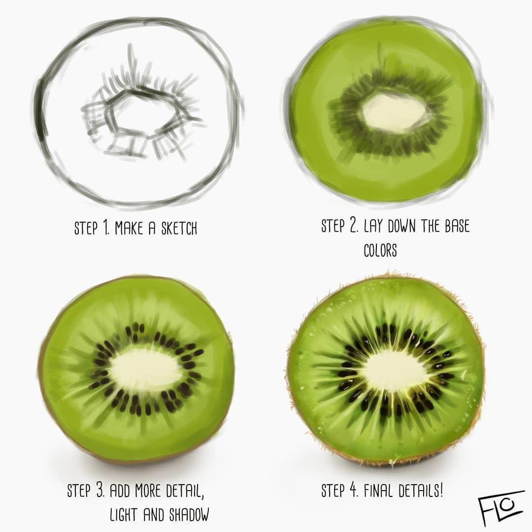 Скорость рисования умножить на время: художница наглядно показала, от чего зависит качество иллюстрации