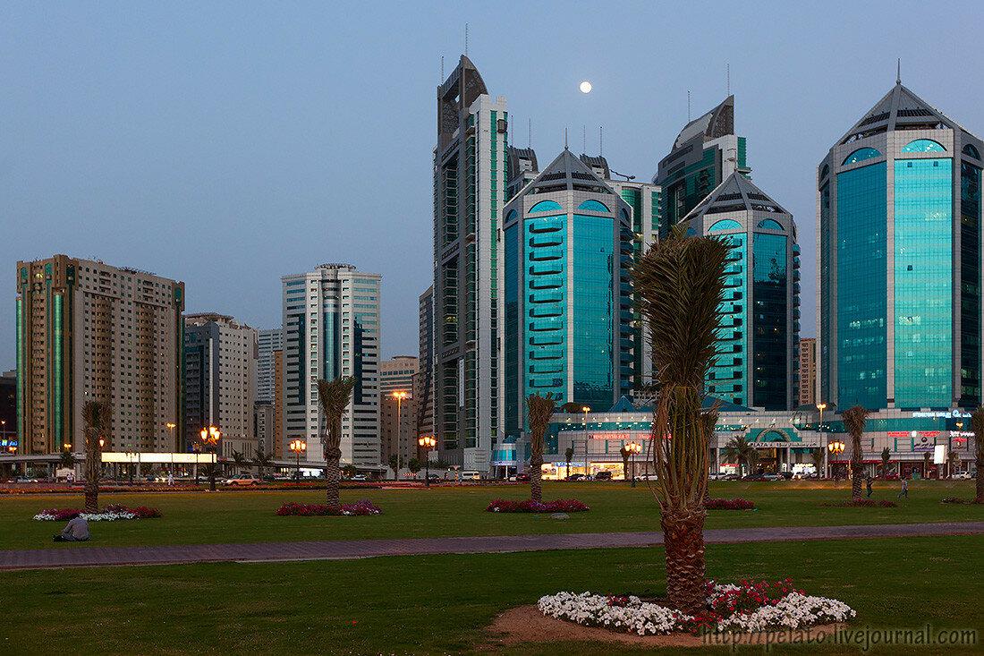 корниш корнич  шарджа ОАЭ sharjah UAE