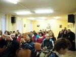 12 апреля в актовом зале Донского храма состоялась конференция по Новомученикам и исповедникам Мытищинским.С приветственным словом к гостям конференции обратился настоятель Донского храма отец Иоанн (Осипов)