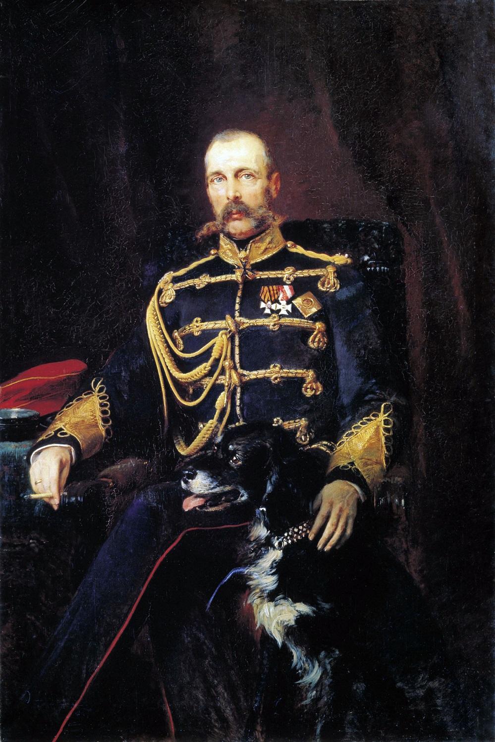 Портрет Александра II. 1881 Государственная Третьяковская галерея, Москва.jpg