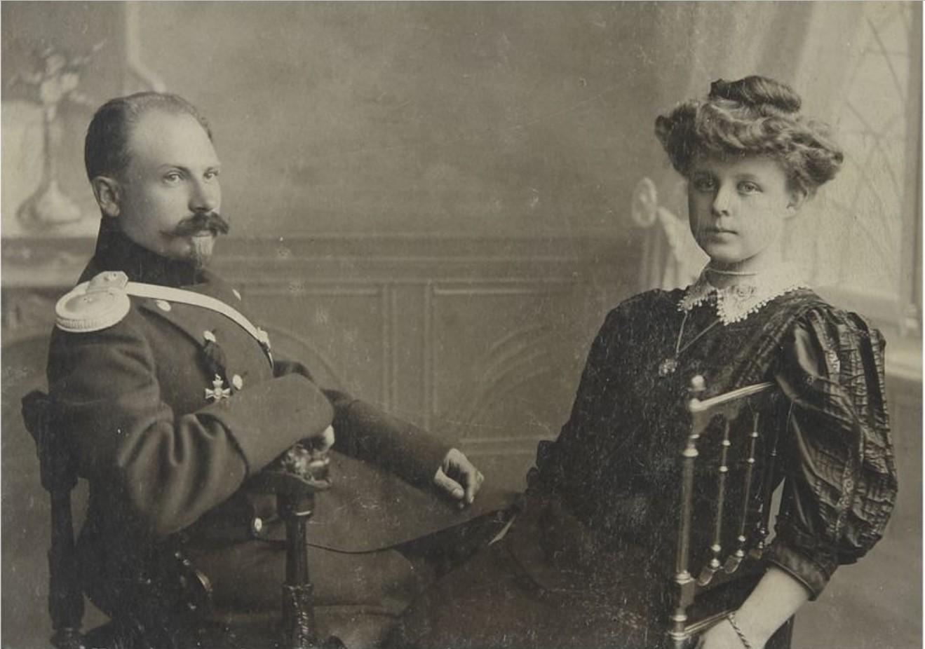 Фото прапорщика технических подразделений Российской Императорской армии, 1900-е