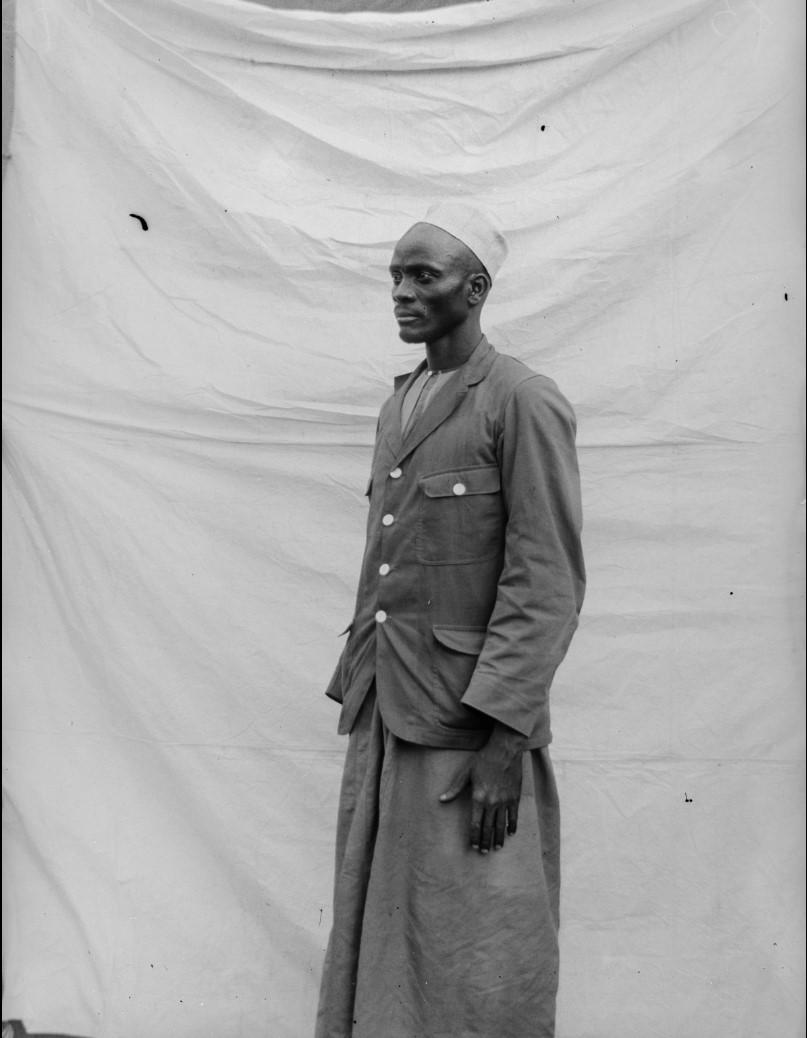 17. Антропометрическое изображение мужчины по имени Матола в Чингулунгу