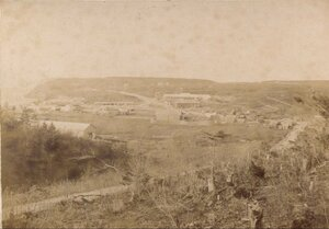 1905. Вид на центр Корсакова.