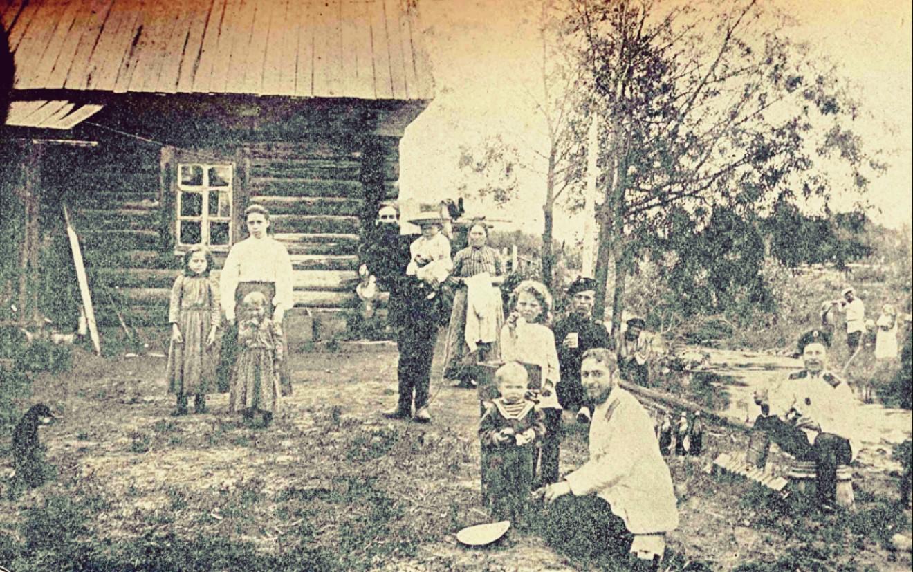 1905. Русская семья в Корсакове