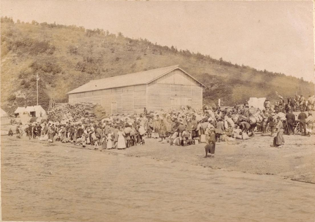 1905. Репатриация русских людей