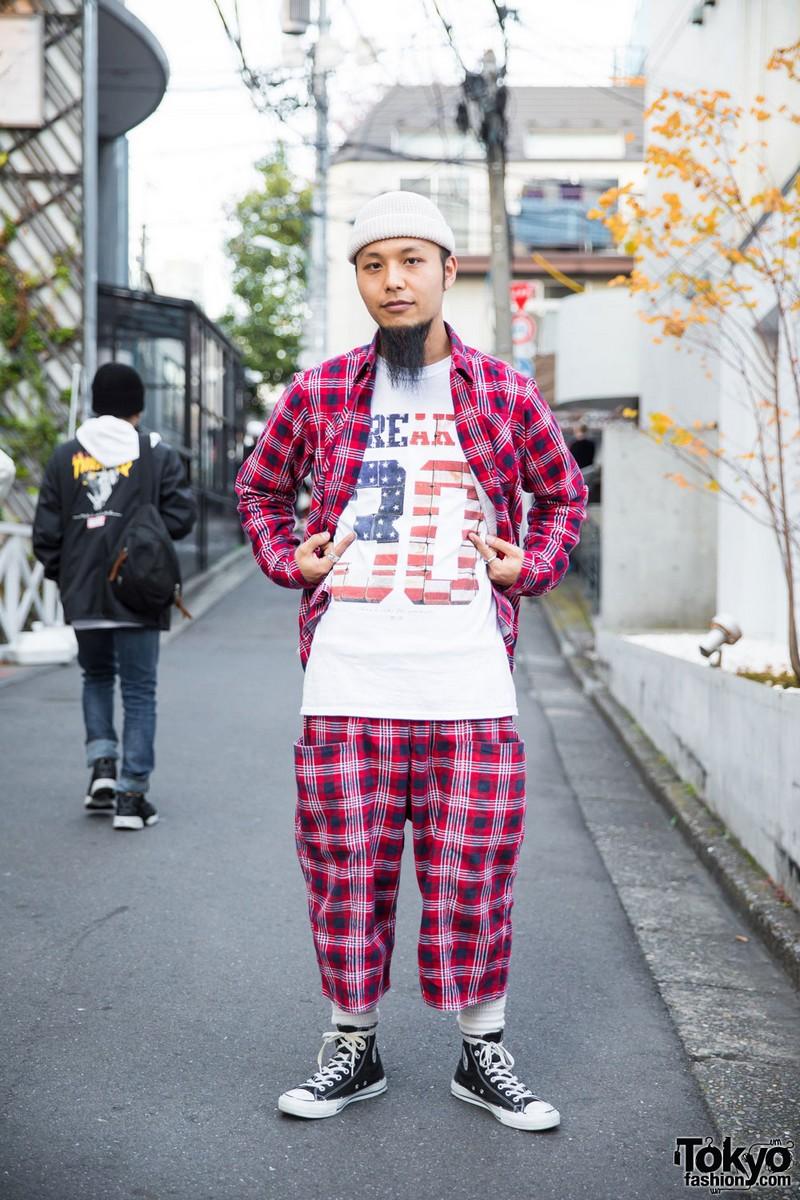Модные персонажи на улицах Токио (09.03.17)