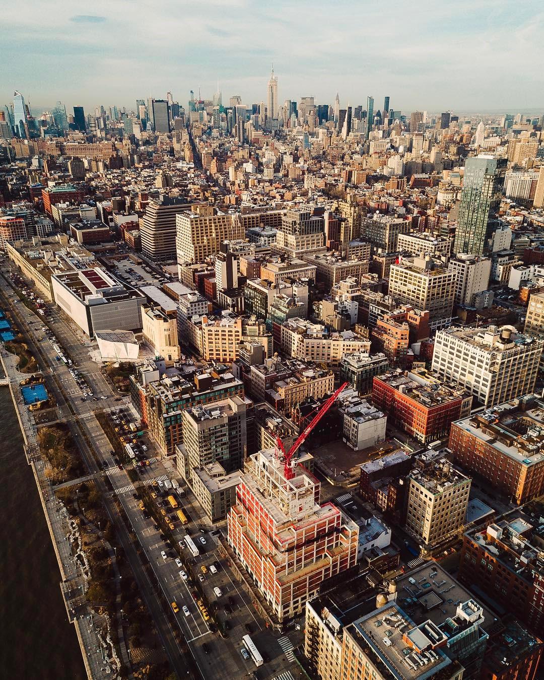 Потрясающие городские пейзажи из Instagram Humza Deas